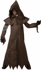 Morris Costumes Boys New Evil Warlock Leather Look Child Costume 7-8. LF3514CMD