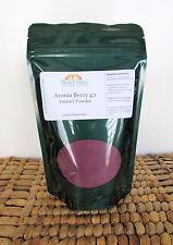 Aronia Berry 4:1 Extract Powder - 8 oz Bag - Free Shipping