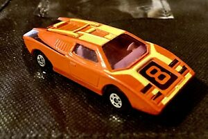🏁 Matchbox Lesney Vintage Red 1973 Lamborghini Countach England 🏁