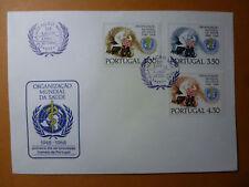 LOT 15064 TIMBRES STAMP ENVELOPPE MEDECINE PORTUGAL ANNÉE 1968