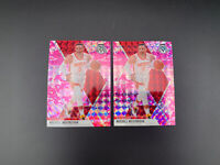 2019-20 Panini Mosaic Russell Westbrook Pink Camo Prizm Rockets SP 2 CARD LOT