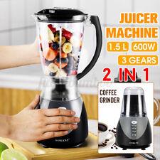NEU Standmixer Stand Mixer Smoothie Maker Milchshaker Ice Crusher Obstmischer