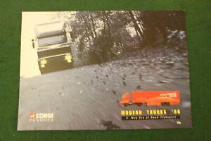 Corgi Modern Trucks 1998 Catalogue