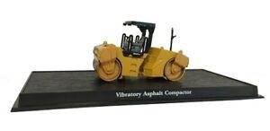 Vibratory Asphalt Compactor - 1:64 - CONSTRUCTION VEHICLES (No.8)
