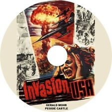 Invasion Usa (1952 Red Scare Sci-Fi film) Mod Dvd disc only