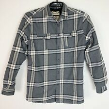 Insulated Flannel Plaid Large Mens Shirt Long Sleeve