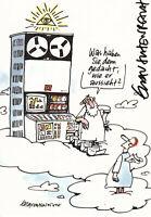 Erich RAUSCHENBACH - dt. Cartoonist, Original-Autogramm!
