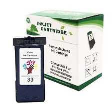 1X Compatible Tri-Color #33 18C0033 Ink Cartridge for Lexmark X7350 X5250 3350