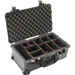 Peli Case 1510 Trolley mit TrekPak Einteilungssystem schwarz Fotokoffer NEU