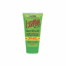 Bushman Plus 80 DEET Insect Repellent With Sunscreen 75g