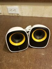 Philips SPA2210/10 USB Speakers per Notebook, color Black/Yellow