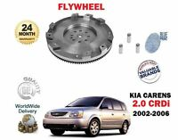 FOR KIA CARENS 2.0 CRDi FC524 D4EA 2002-3/2006 NEW SINGLE MASS CLUTCH FLYWHEEL