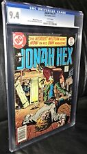 Jonah Hex #1 CGC Graded 9.4 White pages, Beauty!