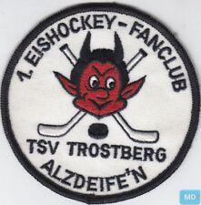 Aufnaeher Patches Applikation  8 x 9,5 cm Fanclub Stolzer Duisburg Fan 00494