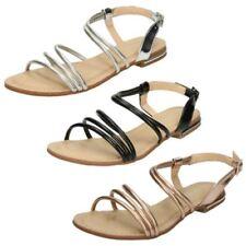Sandali e scarpe per il mare da donna argento piatto ( meno di 1,3 cm ) , Numero 41