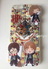 Harry Potter Glitter Bling Sparkly Phone Case iPhone 5, 6, 7 Samsung Galaxy NEW