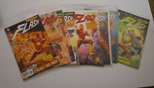 THE FLASH (2011) NEW 52 FIRST PRINT LOT OF 11 DC COMIC BOOKS
