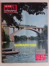 La Vie du Rail n°822 26 novembre 1961 Viaduc de Nogent sur Marne