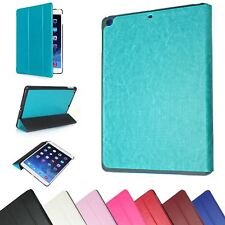 SMART MAGNETIC FRONT BACK COVER THIN SLEEP/AWAKE CASE STAND FOR APPLE IPAD 5 AIR