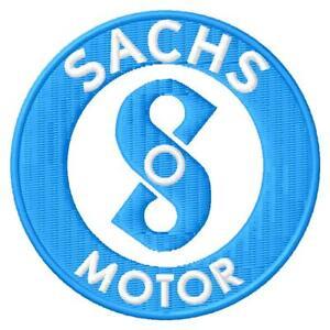 Sachs Motor MadAss ZZ 125 Saxonette Hercules iron-on Aufnäher patch