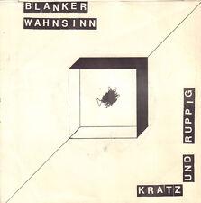 """BLANKER WAHNSINN – Kratz Und Ruppig (1982 GERMAN PUNK/WAVE VINYL SINGLE 7"""")"""