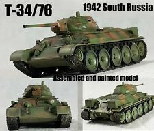 T-34/76 South Russia USSR army model 1942 1:72 finished Easy Model
