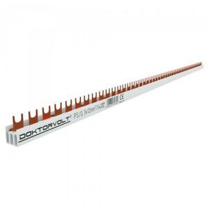 3P Phase Track Fork 54-polig 12mm ² Ps / G Comb Rail Bus bar 80A Dv 6602