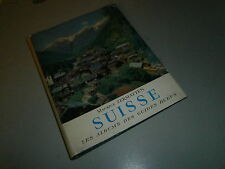 Guide bleu la Suisse 1961 par Maurice Zermatten