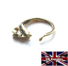 Vintage Style Mouse/Rat finger wrap ring. Antique Gold Finish. Adjustable. UK.