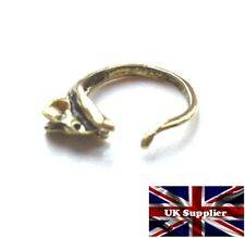 Estilo Vintage Ratón/Rata Envoltura De Dedo Anillo. oro antiguo ACABADO. Ajustable. Reino Unido.
