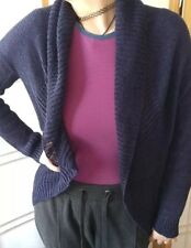 A Pea In The Pod Maternity Navy Blue Cardigan Sweater Sz Large
