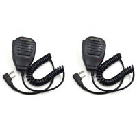 2X Speaker Hand Microphone For BaoFeng UV-5R 8W BF-888S UV-3R+ Walkie Talkie MIC