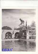 "Harold ""Dutch"" Smith barechested diver Aquatic Artistry short VINTAGE Photo"
