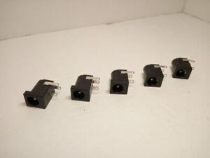 5x Pack 5.5mm x 2.1mm Universal DC Jack Female Power Port Socket Lot PC Laptop A