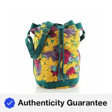Гермес винтаж на шнурке ведро наплечная сумка печати холст средний