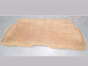 Mercedes sl Rear carpeted wood 380sl 450sl 560sl jumpseat w107 450 560 380 Bench