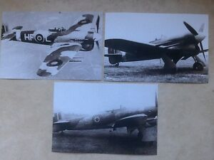 Hawker Typhoons. World War 2 photographs
