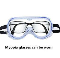 Goggles Protective glasses Safety anti-splash Anti- Fog/Dusk/Splash frames