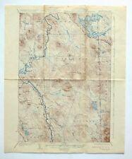 Milan New Hampshire Maine Vintage Original 1934 USGS Topographic Map Berlin Topo