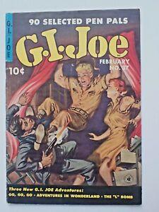 1954 G.I.Joe # 37 Painted Bondage Cover Nice Ziff-Davis Golden Age GGA Headlight