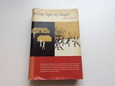 From Ape to Angel - H.R. Hays - Signed by Author - 1958 - First Edition
