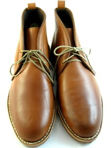 "NEW Allen Edmonds ""NOMAD"" Men's Leather Chukka Boots 10 D Spice Brown (589)"