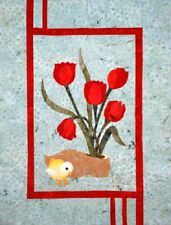 Tulips & Chick Quilt sewing pattern  by Melanie Formway Chang