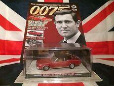 GE Fabbri Eaglemoss Issue 21 James Bond Car Mercury Cougar OHMSS 1:43 Diecast