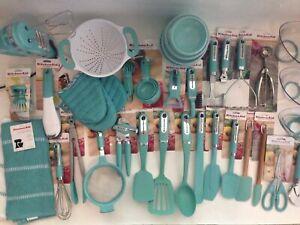 New Kitchenaid Aqua Sky Utensils Gadgets (Color: HAQA) - Items Sold Separately