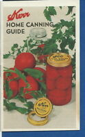 AO-002 - Kerr Mason Jar Home Canning Guide, 1945 Vintage Original Illustrated