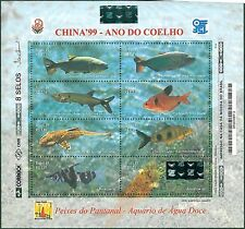 STAMPS -  NATURE - FISH: BRAZIL 1999