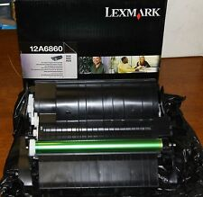 GENUINE LEXMARK 12A6860 TONER CARTRIDGE NOS LOW SHIPPING