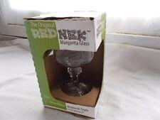 Original Redneck Margarita Glass Red Nek Ball Jar Carson