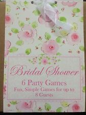 Bridal Shower Party Games 6 Games For 8 Guests